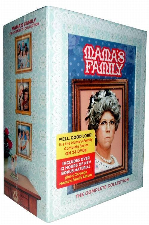 Mama's Family: The Complete Series Collection DVD Box Set 24 Dsic Free Shipping