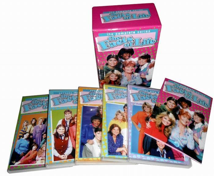 The Facts Of Life: The Complete Series 26 DVD Boxset free shipping