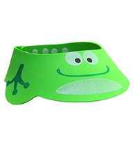 The Creative Cartoon Children's Bath Cap/Shower Hat Can be Adjusted Frog