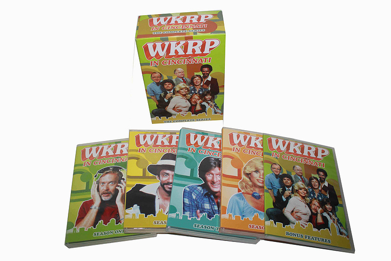 WKRP In Cincinnati The Complete Series 13 DVD Boxset Free Shipping