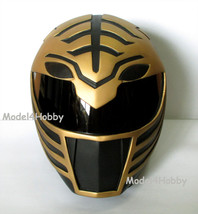 Outside Cliplock! Cosplay! Mighty Morphin Power Rangers BLACK TIGER 1/1 Helmet - $217.55
