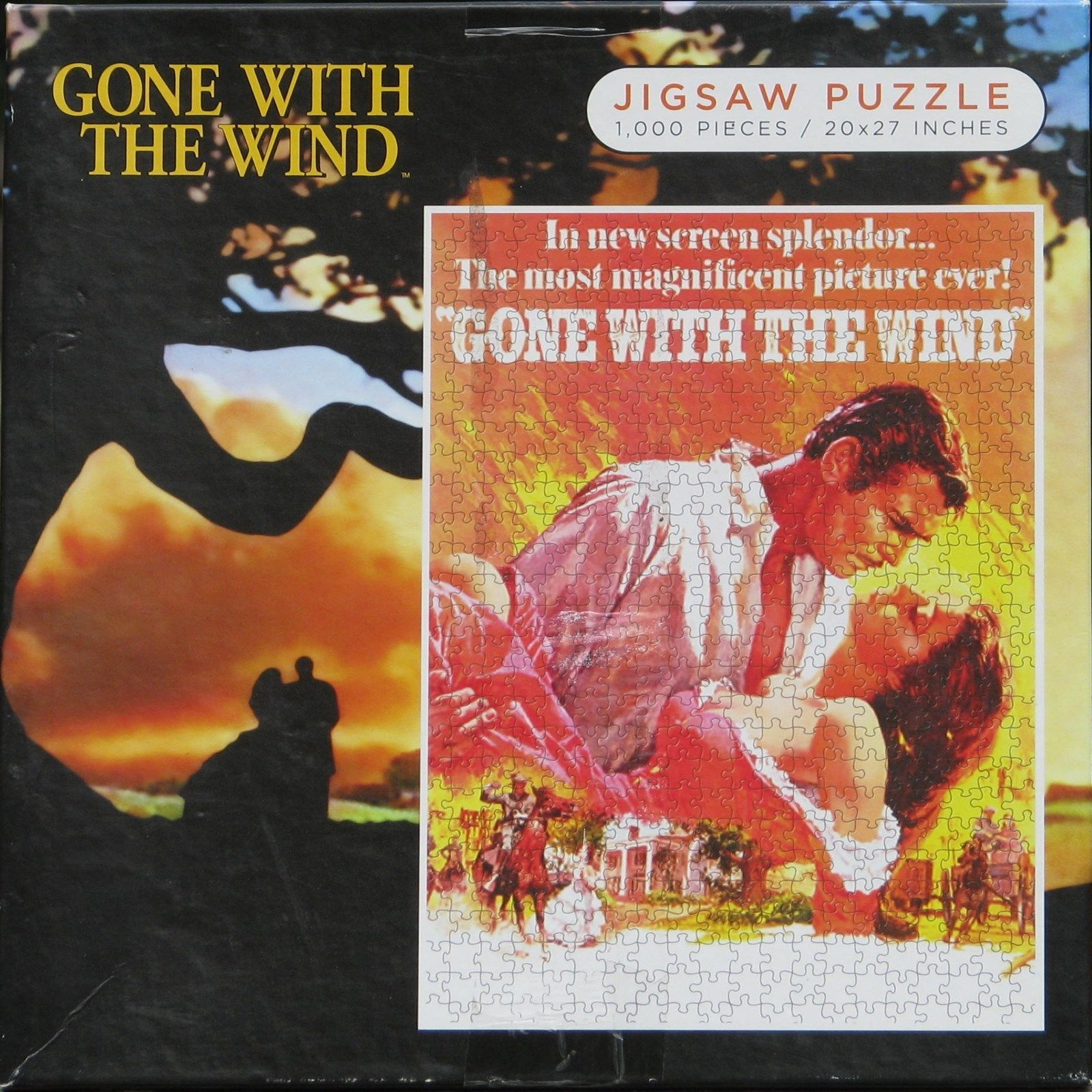 Gone With The Wind Movie Poster Used 1000 Pc and 50 ...