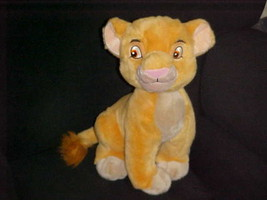 "14"" Disney Kiara Plush Toy Sitting Up Position From The Lion King Adorable - $70.11"