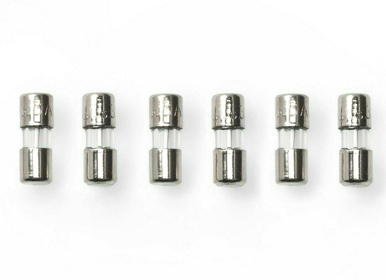 6 PK Wondershop Replacement fuses 3 amp 120 Volts Mini Christmas Light Bulbs