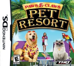 Paws and Claws Pet Resort Nintendo DS - $10.00