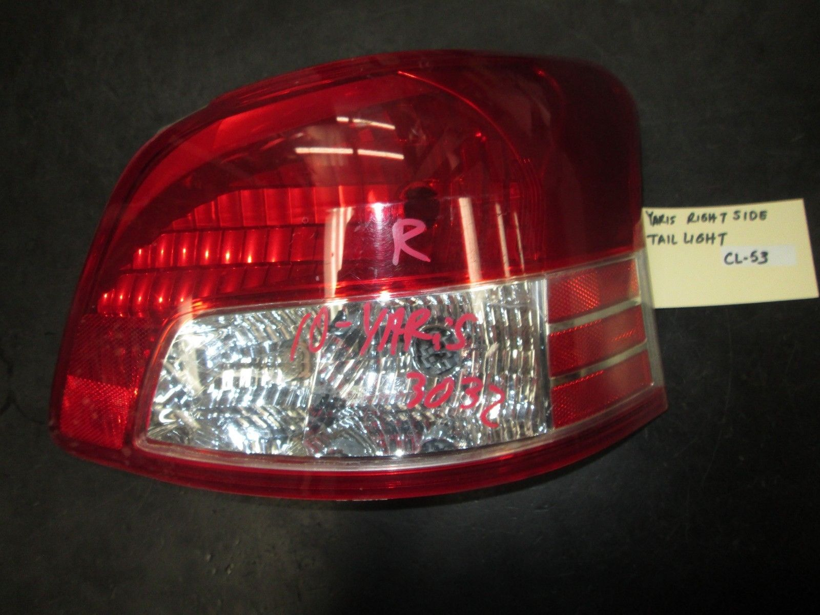 Primary image for 10 YARIS RIGHT SIDE TAIL LIGHT
