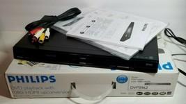 Philips DVD Player DVP3962 / 37 DivX / MP3 support - Black HDMI - Free S... - $39.59