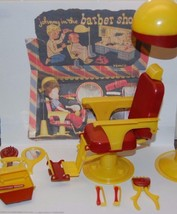 "1953 REMCO ""JOHNNY IN THE BARBER SHOP"" 9 Pieces - $49.45"