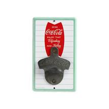 Vintage Coca Cola Bottle Opener, Mounted on MDF Board  ORB-0301 - $24.26