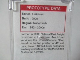 Micro-Trains #46900102 National Fast Freight 53' Corrugated Container N-Scale image 2