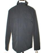 New NWT M Mens Coat Michael Kors Black Jacket Hidden Rain Hood Flap Pock... - $195.60