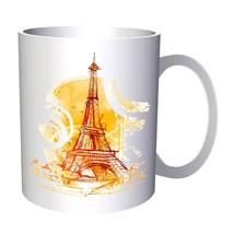 Eiffel Tour Paris Welcome to France  11oz Mug aa987 - $225,13 MXN