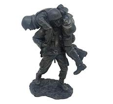 7.25 Inch Wounded Soldier Statue Marine Army MIlitary Heroes American in... - $39.00
