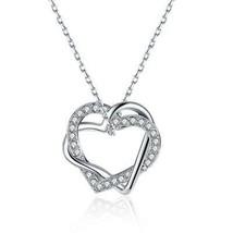 Swarovski Crystal 18K Gold Plated Pave Heart Necklace - $30.99