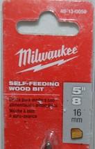 Milwaukee 48130058 Self Feeding Wood Bit Five Eighths Inch image 2