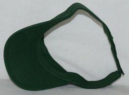 Augusta Sportswear Adult Adjustable Dark Green Sport Twill Visor 6225 image 5