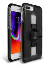 BodyGuardz Apple iPhone 8 Plus/7 Plus/6s Plus/6 Plus SlideVue Case - Smoke image 3