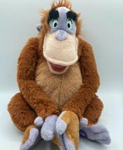 """Il Libro Della Giungla King Louie Peluche Orango Morsa Hands Disney 14 """" An - $12.25"""