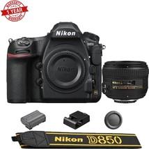 Nikon D850 DSLR Camera with  AF-S NIKKOR 50mm f/1.4G Lens - $4,549.05