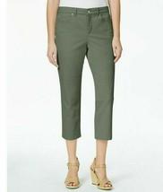 New $55 Charter Club Bristol Capri Sage Green Pants Jeans Bottoms Capris... - $27.97