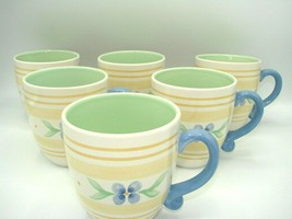 EUC Large 6 Mug Summer Breeze by PFALTZGRAFF Height 4 3/8 in Coffee/Tea ... - $27.81