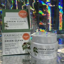 Farmacy Green Clean Makeup Meltaway Cleansing Balm 1.7oz Full Size