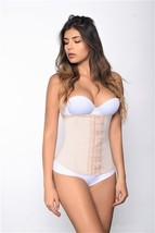 Vedette Valerie 3 Hook Row Latex Waist Cincher to Size 3X - $54.00
