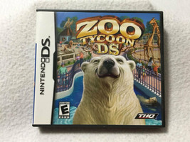 Zoo Tycoon Nintendo DS Animals Complete Game Case Manual - $7.99