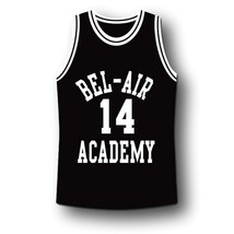 Smith #14 Bel-Air Academy Basketball Jersey Black Any Size image 1