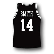 Smith #14 Bel-Air Academy Basketball Jersey Black Any Size image 2