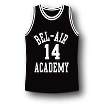 Smith #14 Bel-Air Academy Basketball Jersey Black Any Size image 4