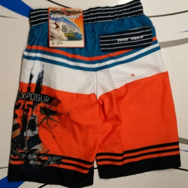 Boys ZeroXposur Swim Trunks Board Shorts Small 8   X Large 18-20  NWT /& Goggles