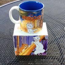 Vtg Walt Disney Store Classics Mug the Aristocrats Marie Orig Box - $19.31