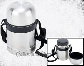 Stainless Steel 17oz (0.5L) Thermos Soup Container Food Hot Cold Lunch Vacuum - $20.99