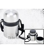 Stainless Steel 17oz (0.5L) Thermos Soup Container Food Hot Cold Lunch V... - $20.99