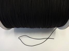 100 FEET: BLACK 1.8 MM Professional Braided Nylon Lift Cord For Blinds &... - $20.78