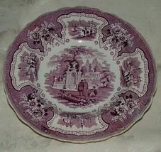 1830-40s Staffordshire LG Round Serving Bowl ADAMS Palestine RARE Mulber... - $225.00