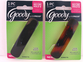 GOODY SLIDEPROOF AUTOCLASP HAIR BARRETTES -1 PC. (07636) - €7,09 EUR
