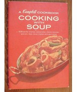 Cooking With Soup Campbell Cookbook Spiral Boun... - $18.76