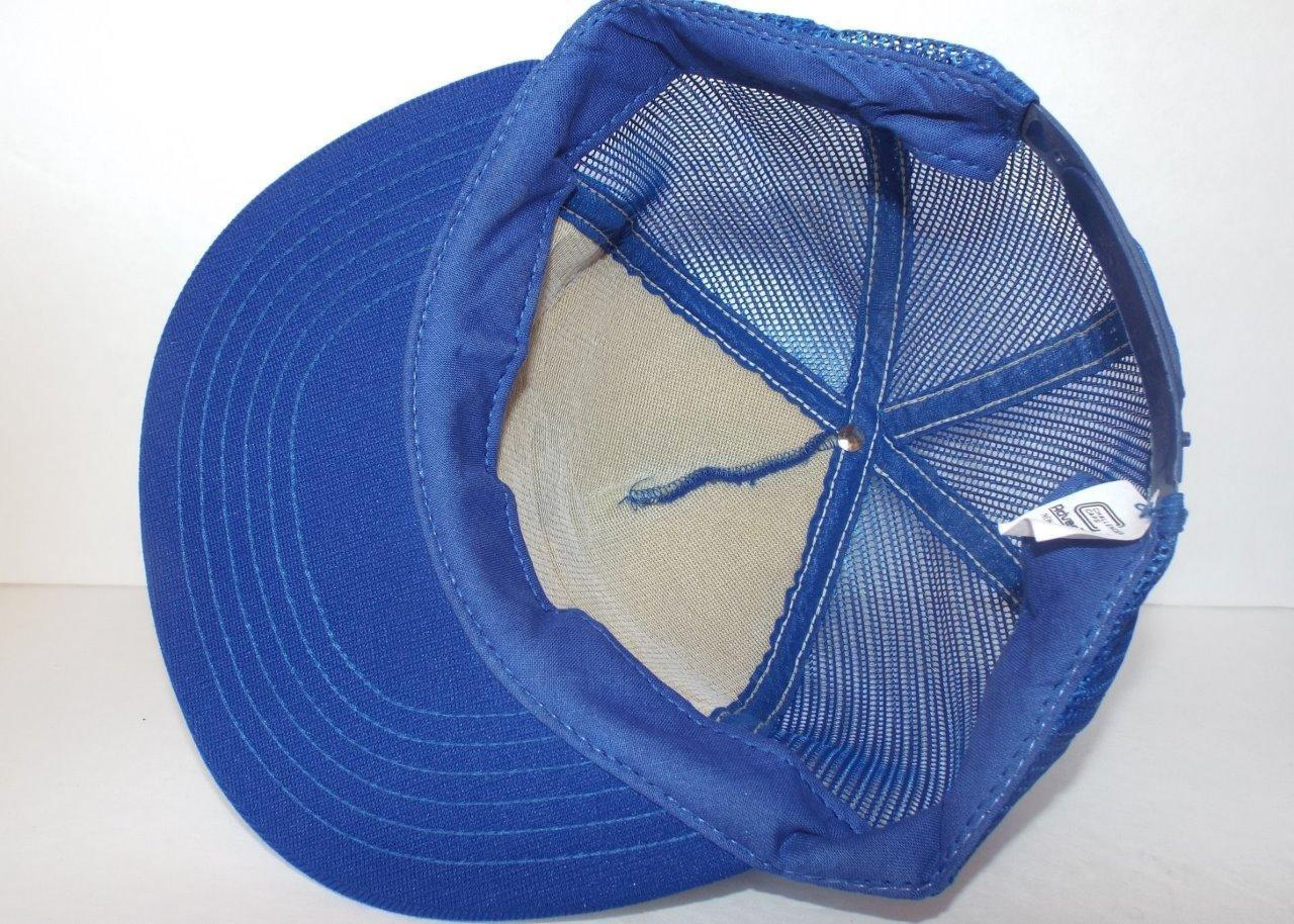 BIG T TRANSFER INC. New Albany Indiana Blue Mesh Back Trucker Hat Cap Adjustable