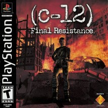 C-12 Final Resistance PS1 Great Condition Complete Fast Shipping - $5.93