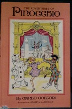 The Adventures of Pinocchio Carlo Collodi Roberta MacDonald 1965 Doubled... - $14.75