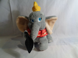 "Walt Disney World Dumbo the Flying Elephant Bean Bag Plush w/ Feather 8"" - $5.20"