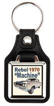 1970 AMC American Motors Rebel Machine Key Chain Key Fob - $7.50