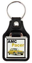 1975 AMC American Motors Pacer Key Chain Key Fob - YELLOW - $7.50