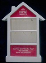 Hallmark Miniature Ornament Shadow Box Memory Box - $23.76