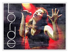 "Lorde Concert Poster 18x24"" Handmade Lorde Music Lover Gift Art Print - $24.95"