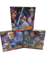 Disney Star Wars Original Trilogy 3 in 1 Panoramic Puzzle Brand New Sealed - $13.99