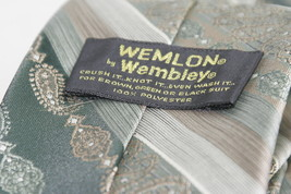 WEMLON by WEMBLEY Necktie, Stripes and Patterns 100% Polyester image 4