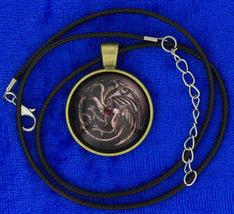 Targaryen dragon cabochon necklace choker thumb200
